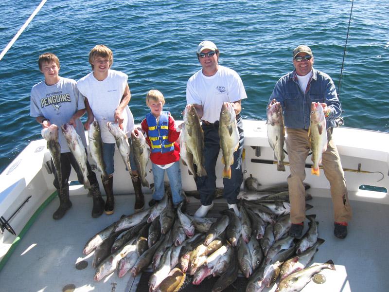 Cod Haddock charters Gloucester, MA