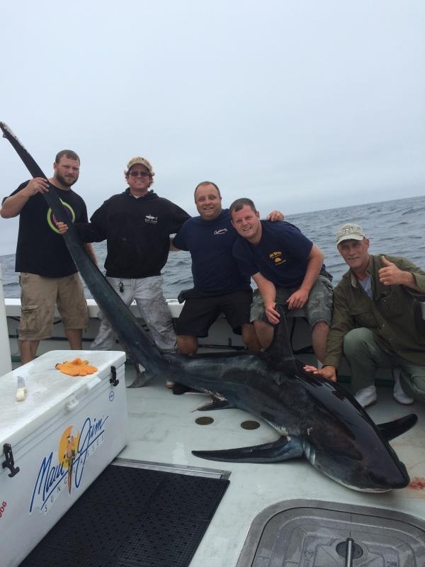 Shark fishing charter gloucester ma for Gloucester ma fishing charters