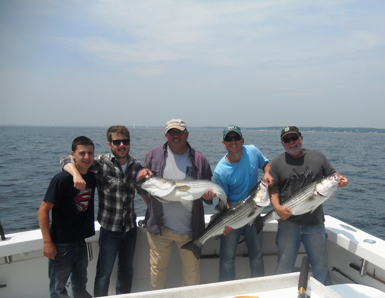 Striped Bass Fishing Gloucester,MA Karen Lynn Charters (5)