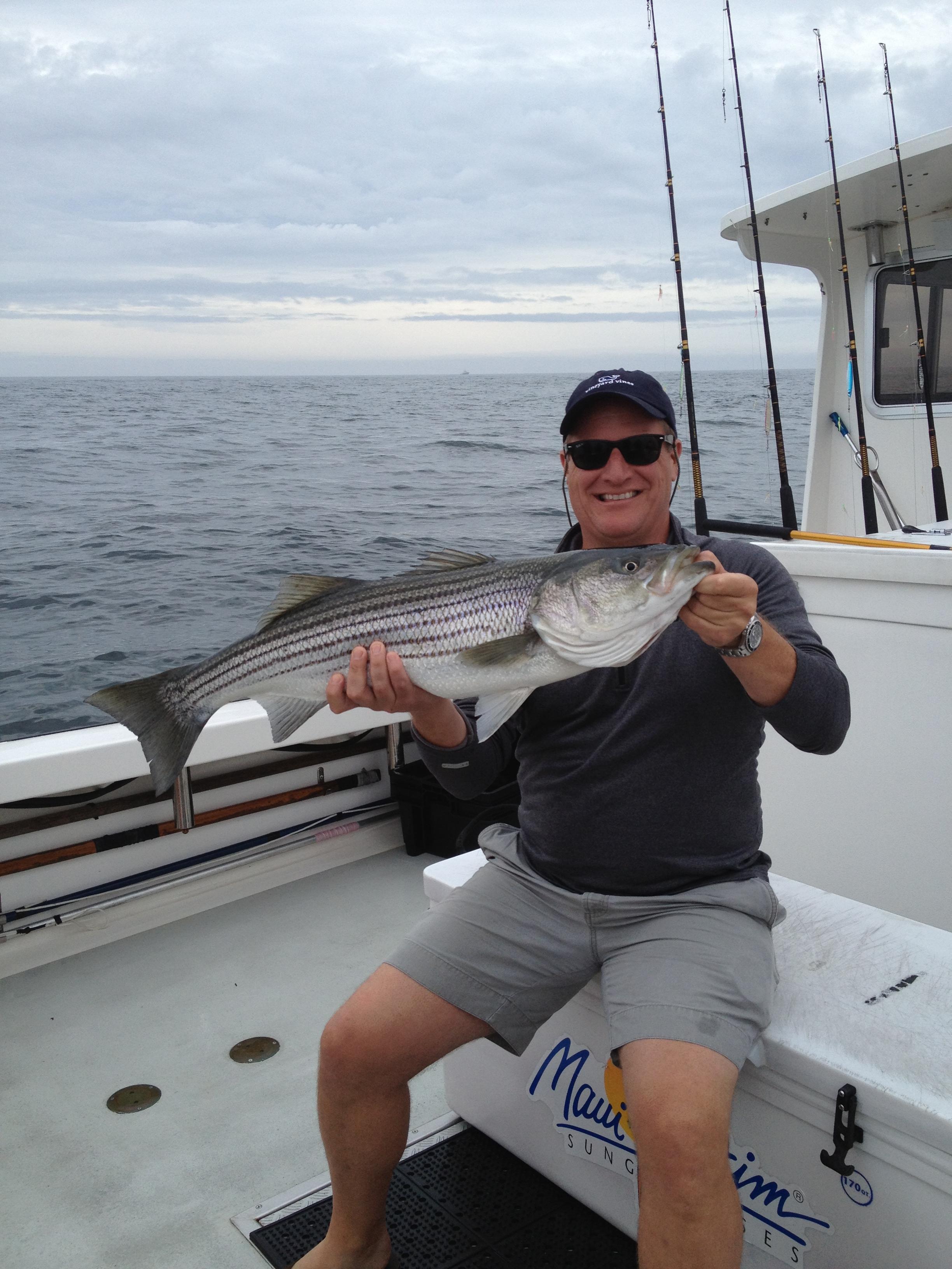 Striped Bass Fishing Karen Lynn Charters Gloucester,MA (3)