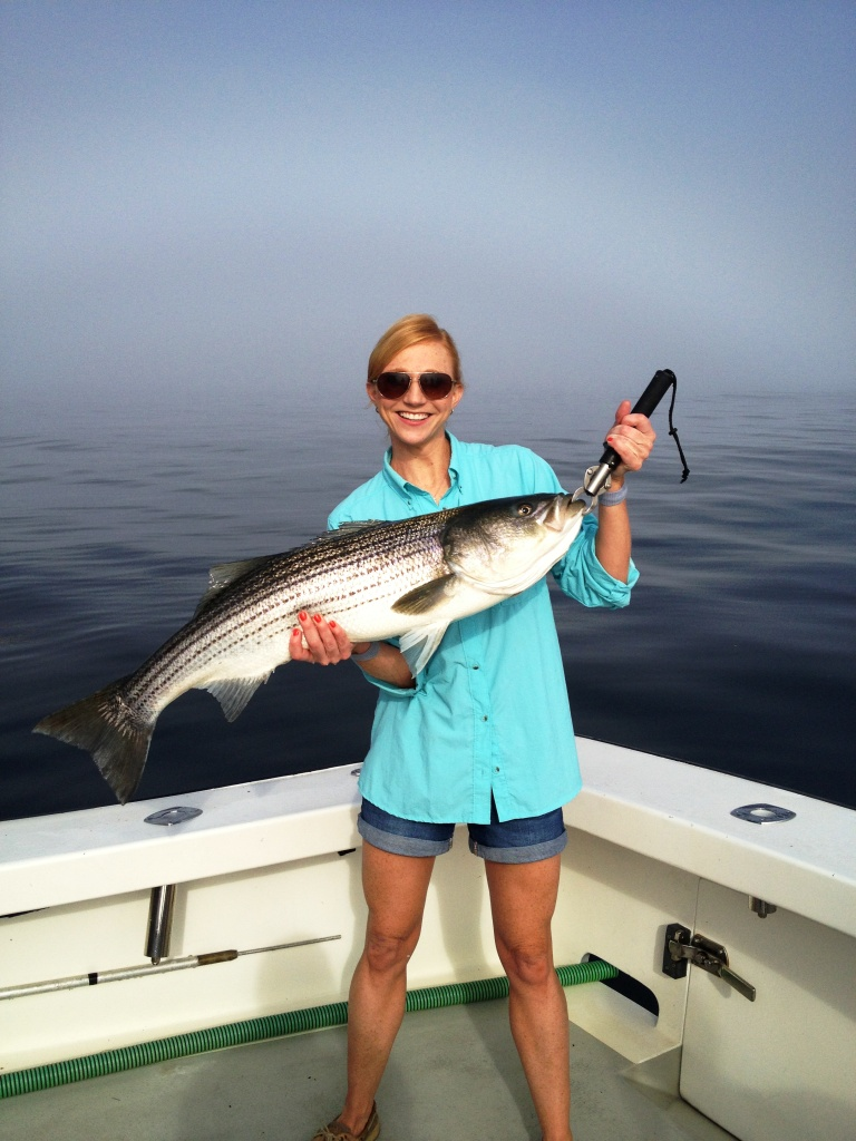 Striped bass fishing charter gloucester massachusetts for Bass fishing trips