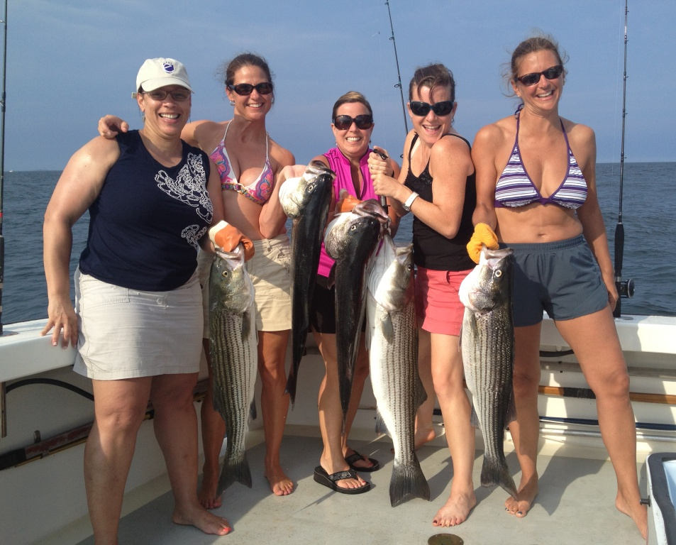 Striped Bass Charters Karen Lynn
