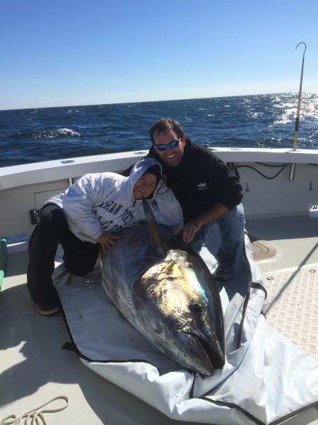 tuna fishing karen lynn charters Gloucester, MA