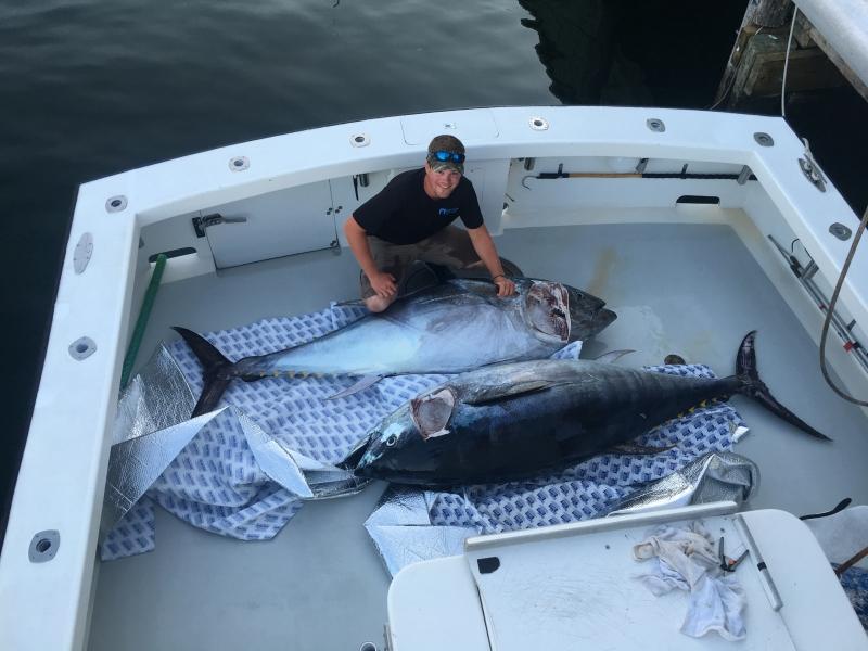 tuna fishing Karen Lynn Charters, Gloucester, MA