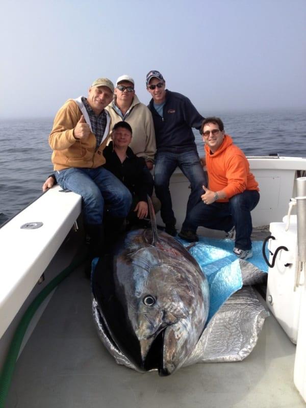 bluefin tuna fishing Karen Lynn Charters Gloucester, MA