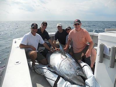 Karen Lynn Charters Giant Blue Fin Tuna