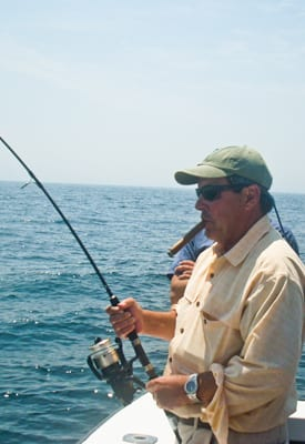 Avoid Seasickness on a fishing trip