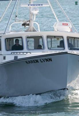 Safety Fishing Charter Gloucester Ma Karen Lynn Charters
