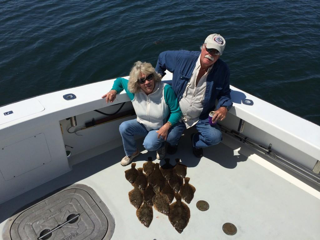 Karen Lynn Charters Flounder Fishing